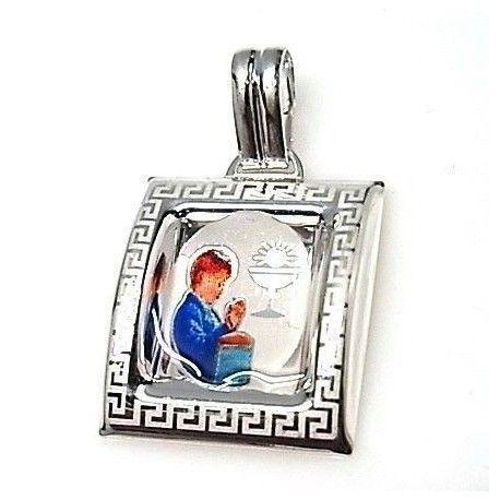 Colgante esmalte medalla comunión