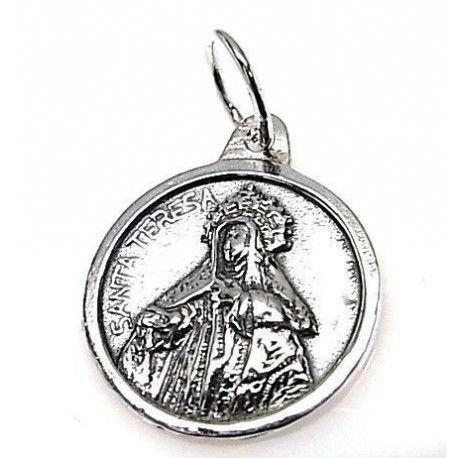 Colgante medalla Sta. Teresa