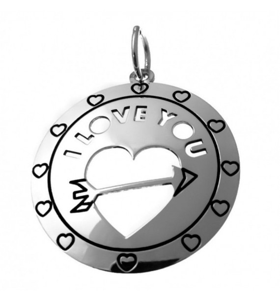 Cogante corazón love flecha