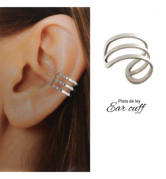 Ear cuff (Medio par)