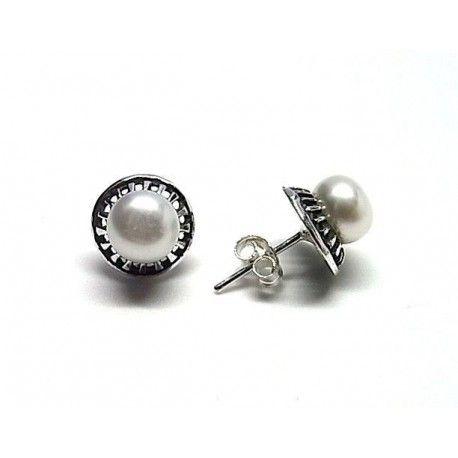 Pendiente perla