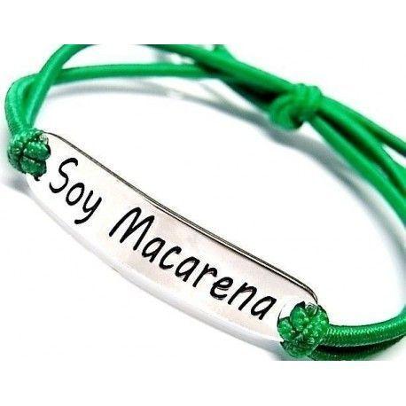 "Pulsera ""Soy Macarena"""
