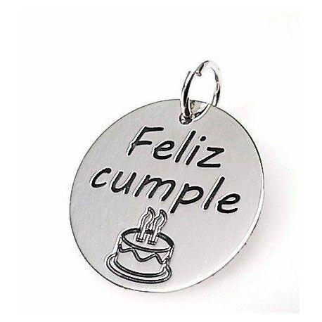 """Colgante """"feliz cumpleaños"""""""